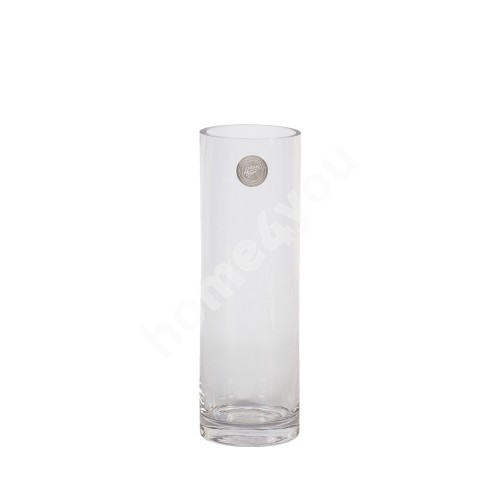 Vase IN HOME D8xH25cm, clear glass