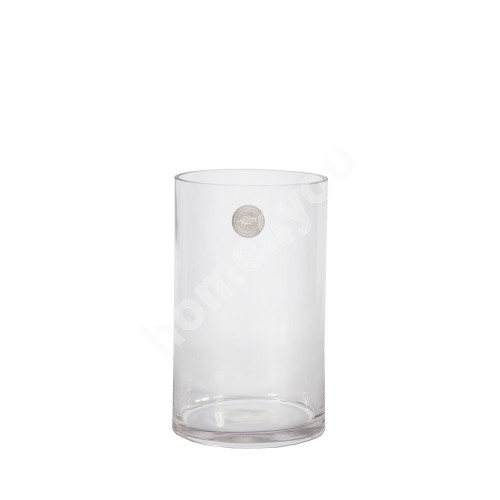 Vase IN HOME D12xH20cm, clear glass