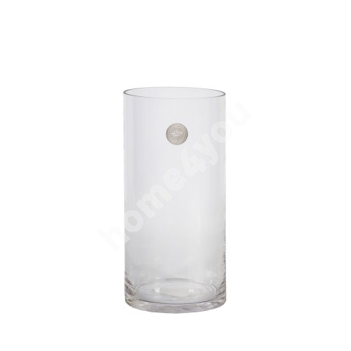 Vase IN HOME D12xH25cm, clear glass
