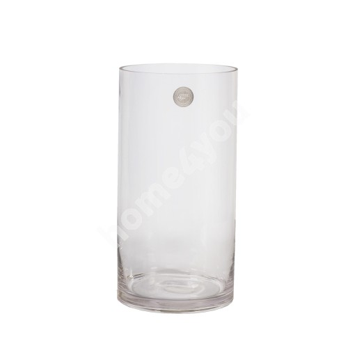Vase IN HOME D15xH30cm, clear glass
