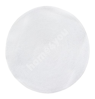 Placemat SUNNY D38cm, white