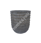Plant holder PALM D40xH44cm, grey