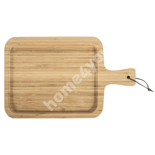 Tray/ cuttingboard BAMBOO HOME COLOR, L