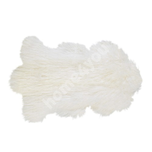 Natural sheepskin TIBET L, 60x95cm, white