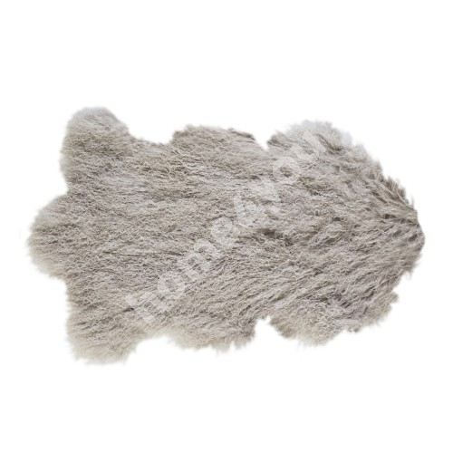 Natural sheepskin TIBET L, 60x95cm, light camel