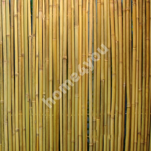 Punched bamboo fence IN GARDEN, 1x3m, natural bamboo D14/16mm - wire inside