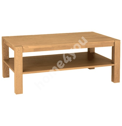 Придиванный столик CHICAGO NEW 110x65xH43cм, дерево: дубовый шпон, цвет: натуральный