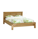 Bed CHICAGO NEW 160x200cm, wood: oak veneer, color: natural