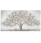 Oil painting 70x140cm, big tree
