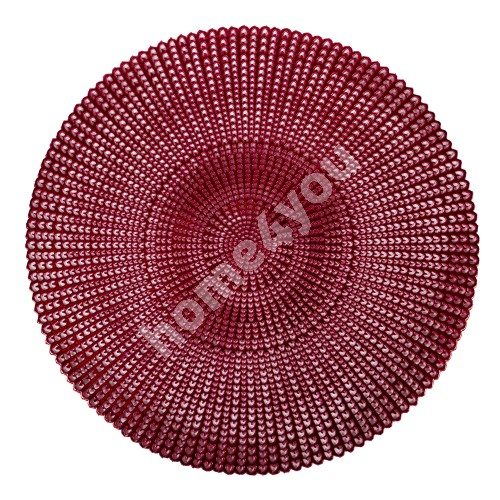 Table mat GLORIA, red