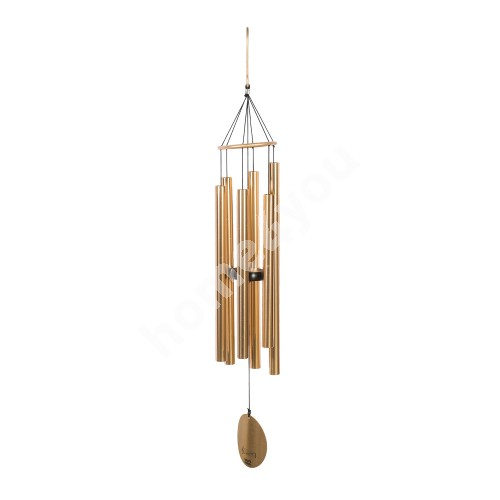 Wind bell NATURE'S MELODY, H99cm, gold