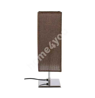 Laualamp JONAS, H45cm, pruun  lambivari, kroom jalg