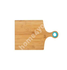 Разделочная доска BAMBOO HOME 30x20см, бамбук / силикон