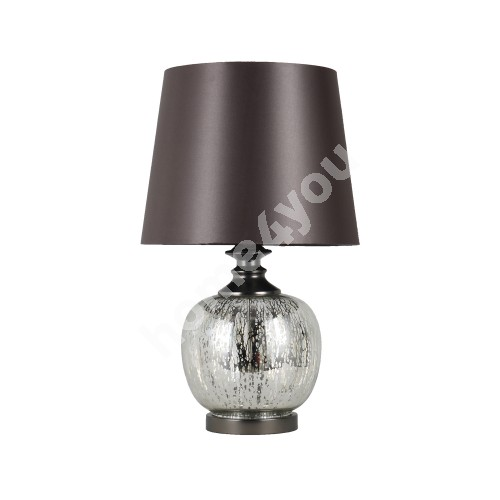 Table lamp LUXO, H58cm, silver