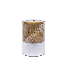 Küünal LUXO, D6.8xH9.5cm, kuldne metallik ( lõhnatu)