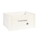 Деревянный ящик HOME&GARDEN-1, L- 41x31xH20см, белый