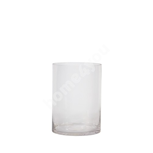 Vase IN HOME D15xH20cm, clear glass