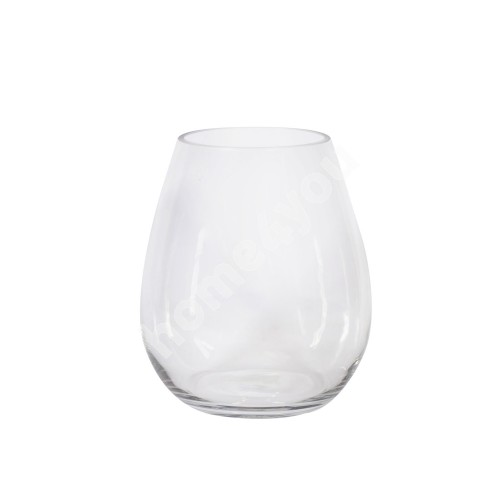 Vase IN HOME D16xH20cm, clear glass