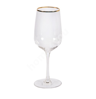 Veinipokaal BLISS 350ml, H20,5cm, klaas/ kuld