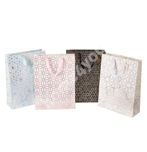 Gift bag KARIIOU, 32x42x12cm, mix gold/4 colors
