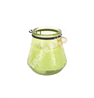 Klaasküünal VENEETSIA XL, D9xH9.5cm, roheline, ilma lõhnata