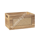 Деревянная коробка CUPRA-1, 36x26x18см, натуральная