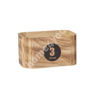 Деревянная коробка НОМО-3, 26x16x14см, номер 3