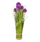 Rohukõrred lilledega IN GARDEN, H32.5cm, lilla