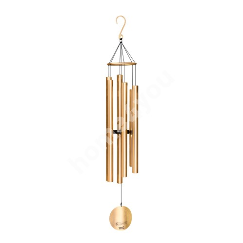 Wind bell NATURE'S MELODY, H116cm, gold