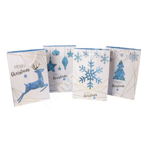 Gift bag FROZEN, 31x44x12cm, white/ blue, mix 4 colors