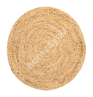 Carpet NATURE, D90cm, water hyacinth, natural