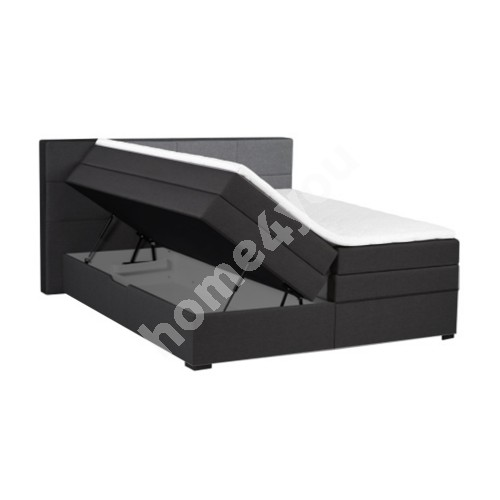 Continental bed TENNESSI STORAGE 160x200xH69cm