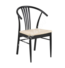 Стул YORK, 57x74x95см, веревочное сиденье бежевый, древесина березы - морилка