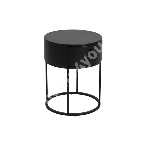 Bed side table POLO D40xH51cm