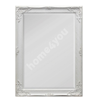 Mirror ANTIQUE 50x70cm, white