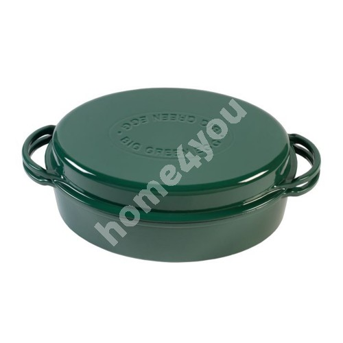 Green Dutch Oven Oval