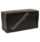 Hoiukast aeda COMFY 270L, 117x45x57,5cm, pruun
