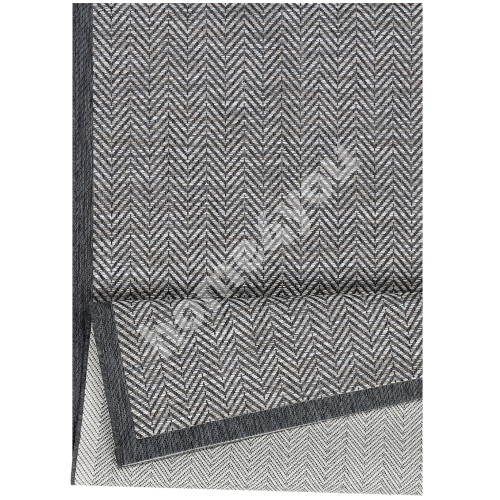 Carpet AXEL 80x150 cliff grey, flatweave rug for outdoor
