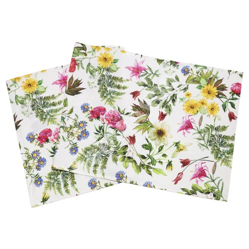 Table mat HOLLY 45x116cm, 100%cotton, fabric 742