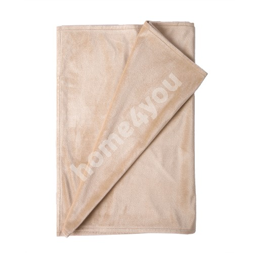 Table mat DELUXE 2 43x116cm, beige, 100%polyester, fabric-841