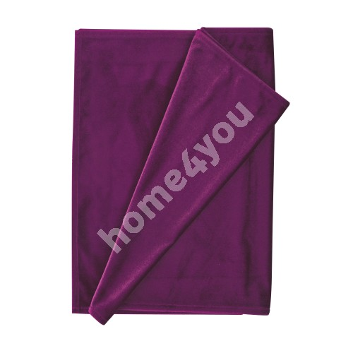 Table mat DELUXE 2 43x116cm, purple, 100%polyester, fabric-843