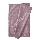 Table mat VELVET 43x116cm, dusty rose, 100% polyester, fabric-877