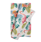 Linik WAIKIKI, 43x116 cm, flamingod, 50% puuvill, 50%polüester, kangas-232