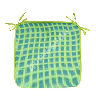 Подушка на стул TROPIC 39x39cм, толщина 2,5cм, 100% хлопок, ткань:076
