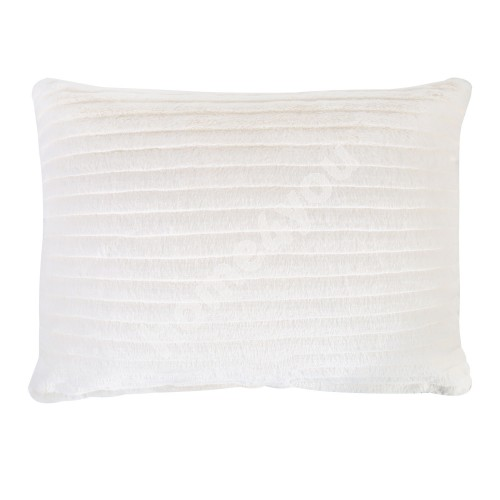 Pillow SOFT ME 38x50cm with zipper, 100% polyester, soft stripes, fabric 243