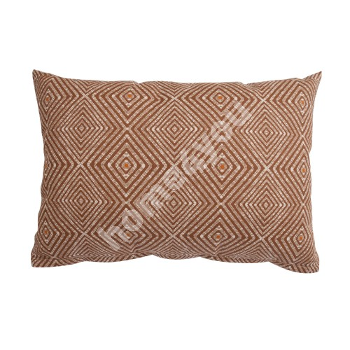 Pillow HOLLY GRAPHIC 32x45cm brown