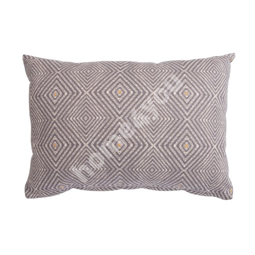 Pillow HOLLY GRAPHIC 32x45cm grey