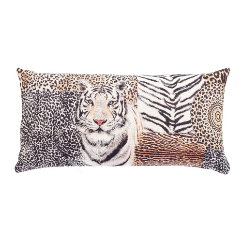 Pillow LEOPARD 68x35cm, tiger tapestry