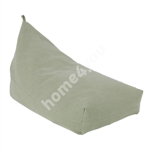 Bean bag JUTE 130x80x20/70cm, green