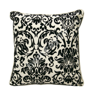 Pillow HOME 45x45cm, 45%viscose, 55%linen, fabric 644